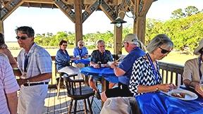 SIBC, Skidaway Island Boating Club, Delegal Marina Dock Party