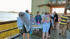SIBC, Skidaway Island Boating Club, Delegal Marina Dock Party