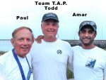 Todd, Amar and Paul Race!