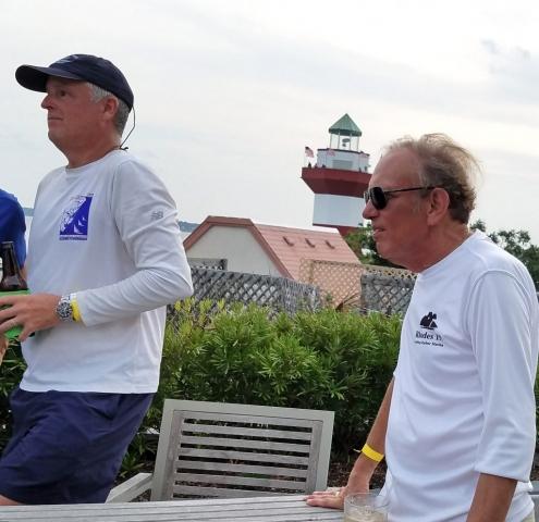 Hook Race at Sea