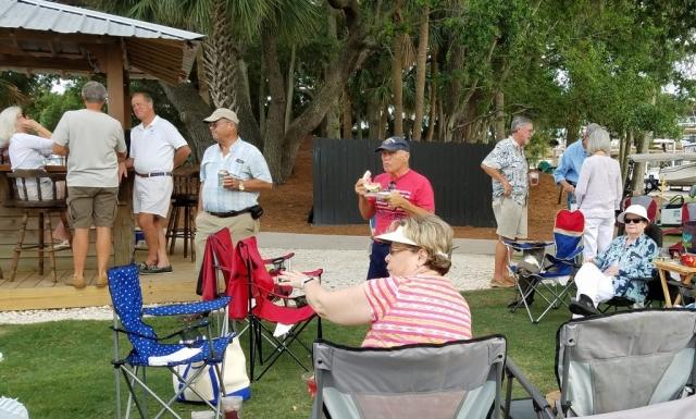Boaters' Nite, Tiki Bar, June 22